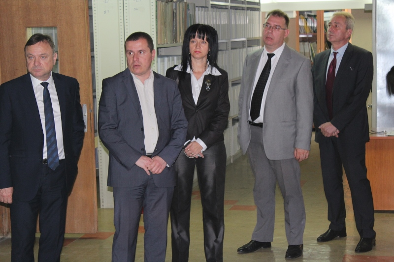 Vizita e Delegacionit të Agjencisë së Arkivave Shtetërore të Bullgarisë